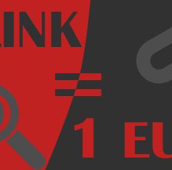 1 link seo - 1 euro